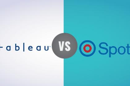Comparando Spotfire vs Tableau
